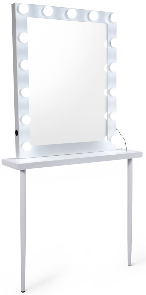 MASA Table Maquillage - avec miroir - Malys Equipements