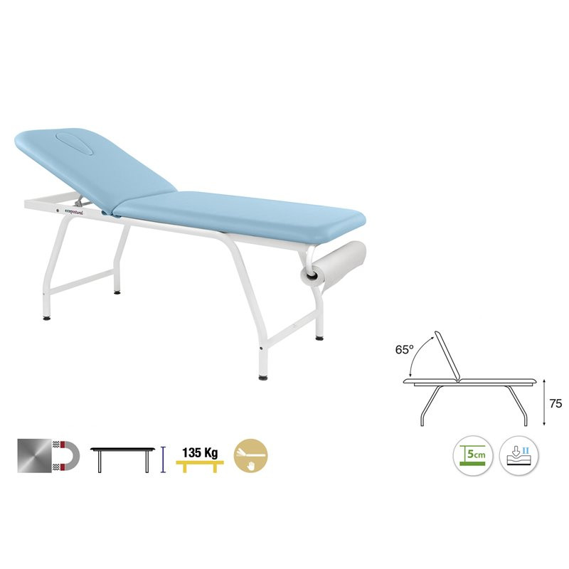 C4592 Table fixe 2 plans Ecopostural