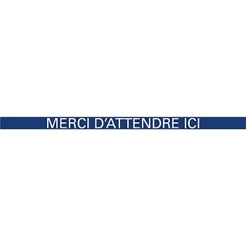 Bandes de distanciation - Lot de 5